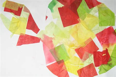 craft ideas with tissue paper crafts with tissue paper ye craft ideas