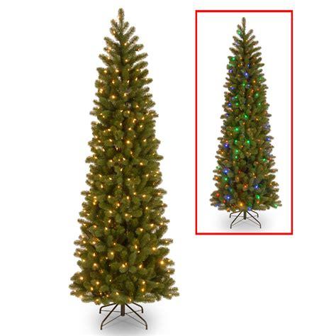 dual color tree national tree company 7 5 ft downswept douglas pencil