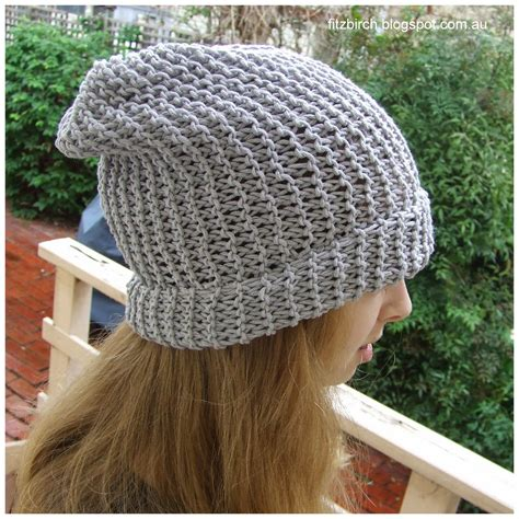 knitting a beanie with needles fitzbirch crafts 50 shades of grey beanie