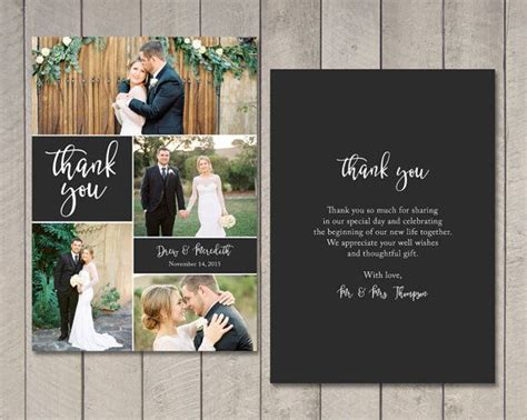 how to make wedding thank you cards best 25 wedding thank you cards ideas on