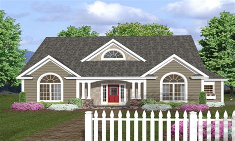 house plans with porches one story house plans with front porches one story house