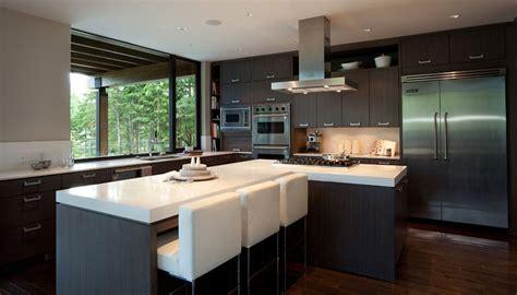 luxury modern kitchen designs luxury house with a modern contemporary interior digsdigs