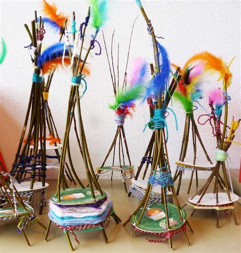 weaving crafts for weaving craft tipi crafts