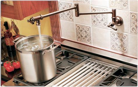 pot filler kitchen faucet moen s664orb pot filler two handle kitchen faucet