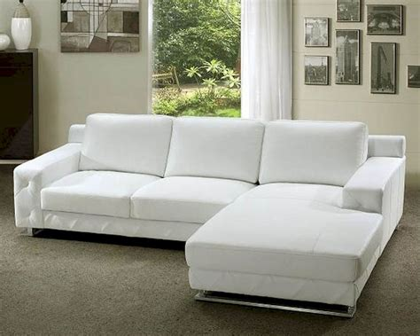 white modern sectional sofa white leather sectional sofa set 44l0680