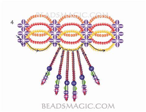 beaded choker necklace patterns free pattern for beaded choker magic