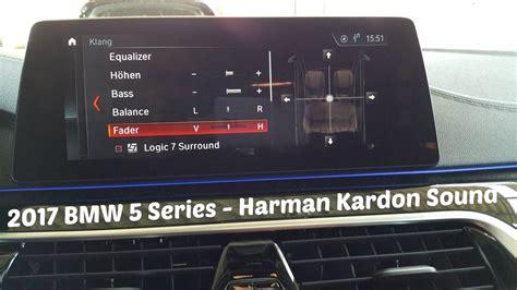 Bmw Harman Kardon by 2017 Bmw 5 Series Harman Kardon Surround Sound System
