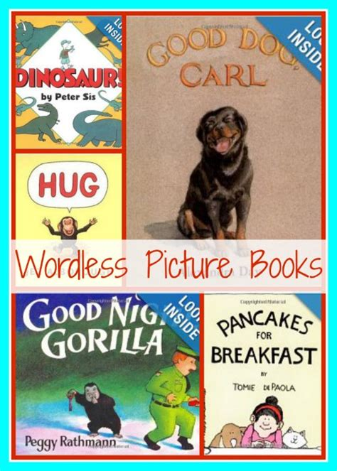 wordless picture books printable wordless picture books 30 days of reading with my