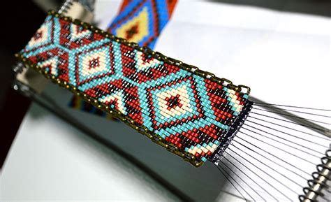 beading on a loom bead loom images