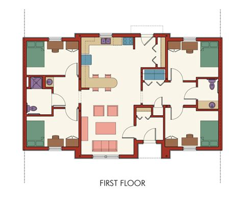 handicap accessible floor plans wheelchair accessible floor plans