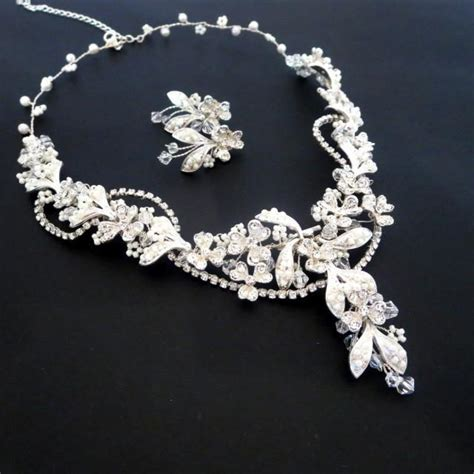 how to make wedding jewelry beaded bridal necklace pearl bridal earrings bridal