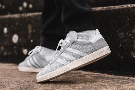 prime knits adidas gazelle primeknit blue grey sneaker bar detroit
