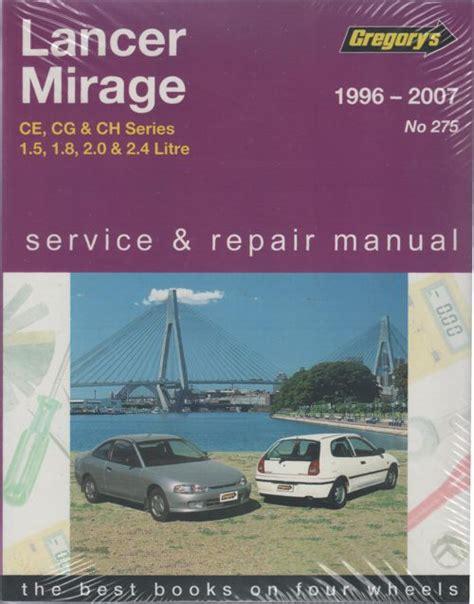 free service manuals online 2004 mitsubishi lancer electronic throttle control mitsubishi lancer mirage ce 1996 2007 gregorys service repair manual sagin workshop car