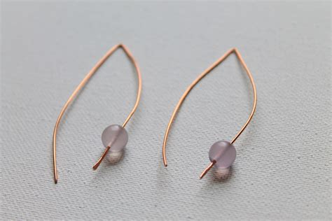 how to make wire jewelry earrings how to make and simple wire earrings emerging
