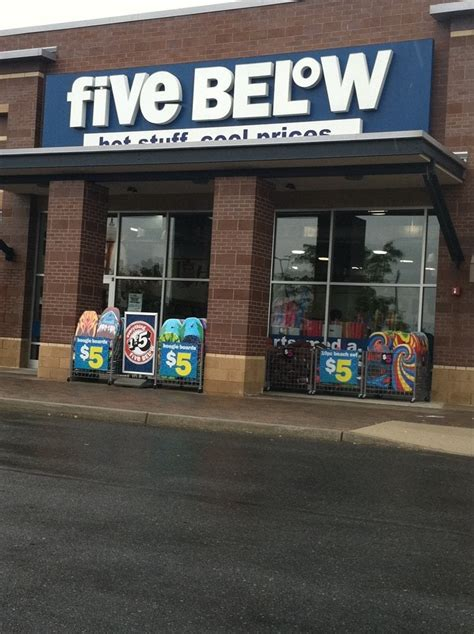 rubber st stores by state five below stores 2108 n 2nd st millville nj