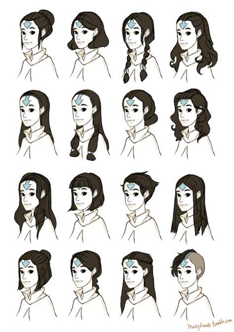 avatar hairstyles air korra lok airbender arrow tattoo