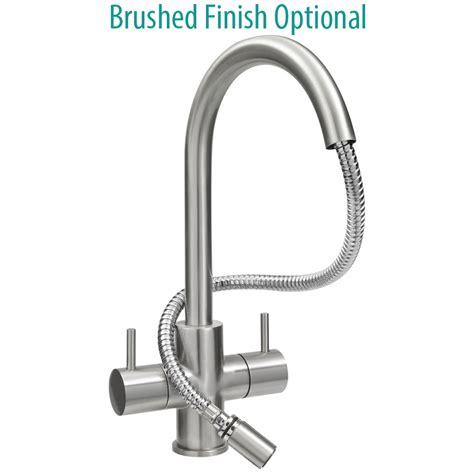 spray taps kitchen sinks astracast shannon monobloc pull out spray kitchen sink