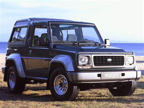 Daihatsu Rocky Parts by Daihatsu Rocky Wagon Se Diesel 1994 Parts Specs