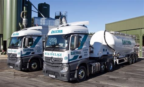 Leith Mercedes by Mercedes Digs In With Leiths Fleet Uk Haulier