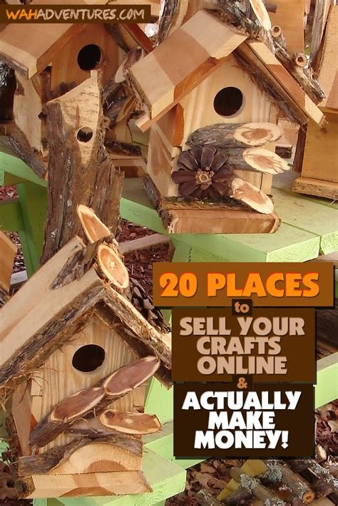 home made crafts for 20 places to sell handmade crafts some are free