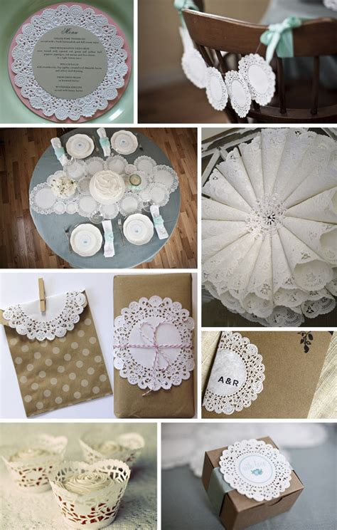 paper doily craft ideas paper doilies wedding on