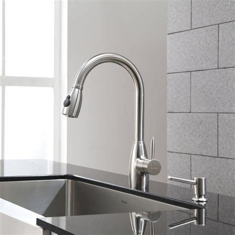 faucet sink kitchen best kitchen sink and faucet combo