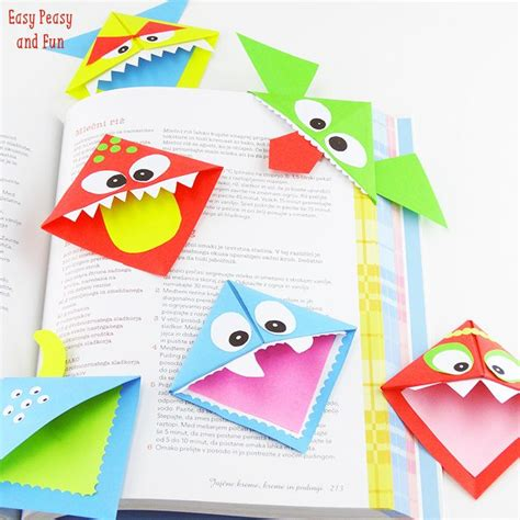 origami monsters 25 best ideas about bookmark on