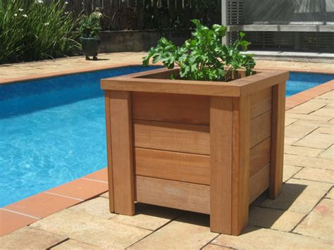 wooden planter box how to build a wooden planter box portable gardening