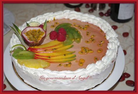g 226 teau mousse charme de fruits les gourmandises d