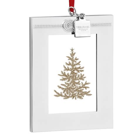 photo frame ornaments for tree vera wang infinity picture frame ornament 2016