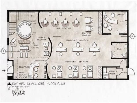 nail salon floor plan design salon floor plans day spa level design stroovi
