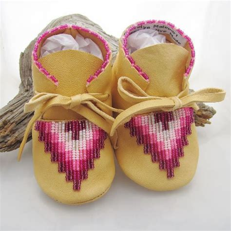 beaded moccasins and american beaded baby moccasins shoes infant size