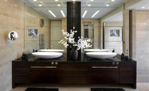 two bathroom ideas 5 bathrooms for two with large mirrors