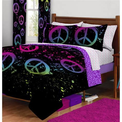 peace sign bedding comforters