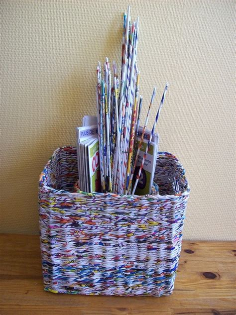 craft ideas from waste paper pin by diana leigh on recycle reuse repurpose