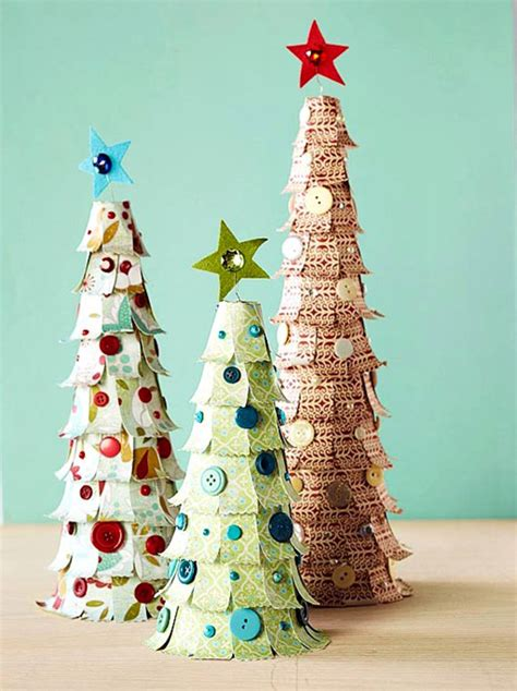 tree paper craft paper decorations sassaby