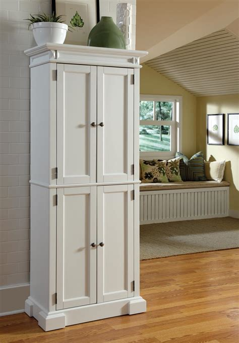 freestanding pantry cabinet for kitchen adding an kitchen look with white kitchen pantry