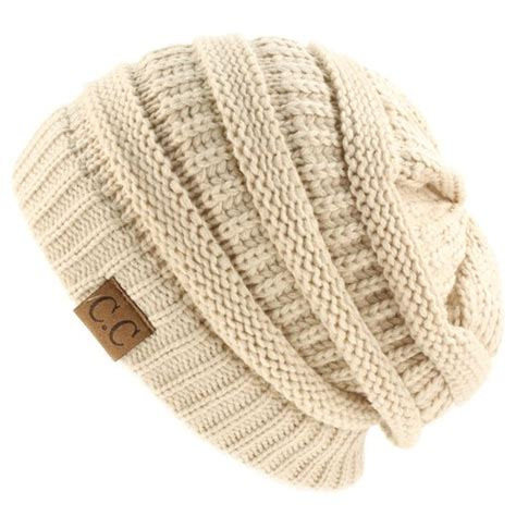 how to knit a cable beanie buy unisex winter thick chunky stretch knit beanie skully