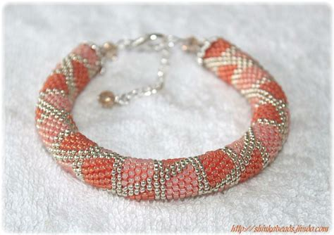 seed bead projects you to see seed bead crocheted bracelets by shinkabeads