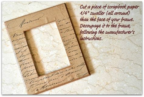 how to make decoupage medium decoupage picture frame in stitches
