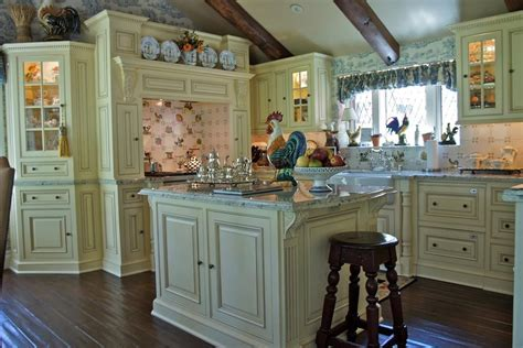 White Kitchen Cabinets With Backsplash english country traditional kitchen normabudden com