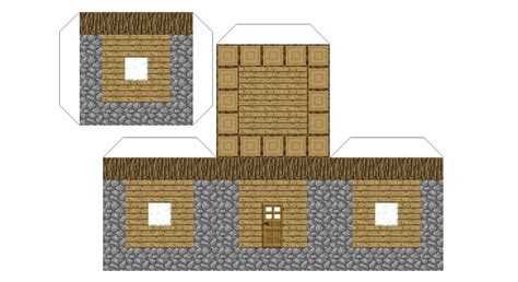 paper craft house 8 best images of minecraft tree block printables