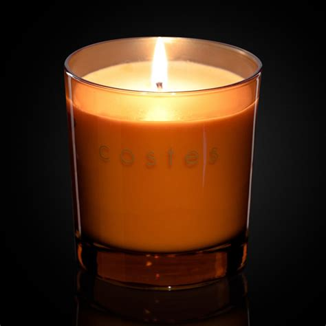 scent candles scented candle orange hotel costes
