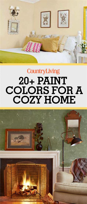 warm paint colors cozy color schemes home living room
