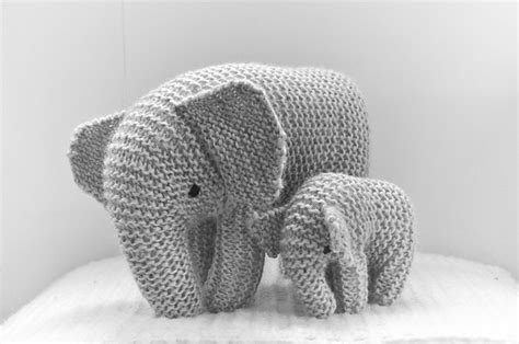 knitted elephant free pattern five new patterns baby knits shortrounds