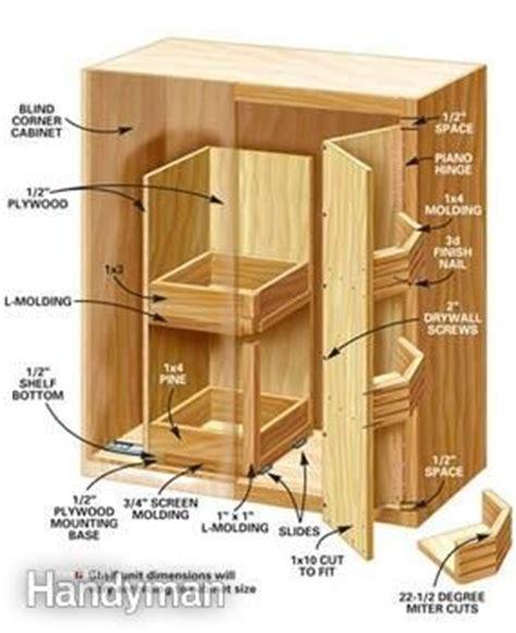 corner kitchen cabinet storage solutions woodwork diy blind corner cabinet solutions plans pdf