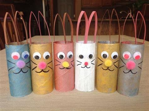 crafts using toilet paper rolls easter craft using toilet paper rolls toilet paper roll