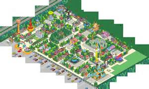 Mansion Layouts springfield showoff krustyland take 2 the simpsons