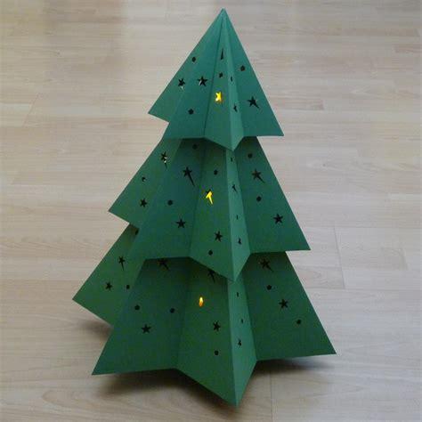 papier weihnachtsbaum paper trees