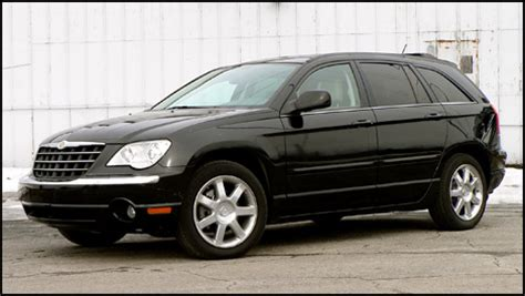 2007 Chrysler Pacifica Limited by 2007 Chrysler Pacifica Limited Road Test